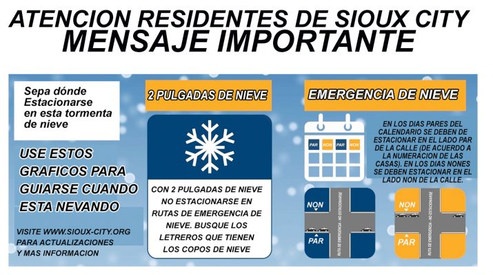 Snow Emergency En Espanol