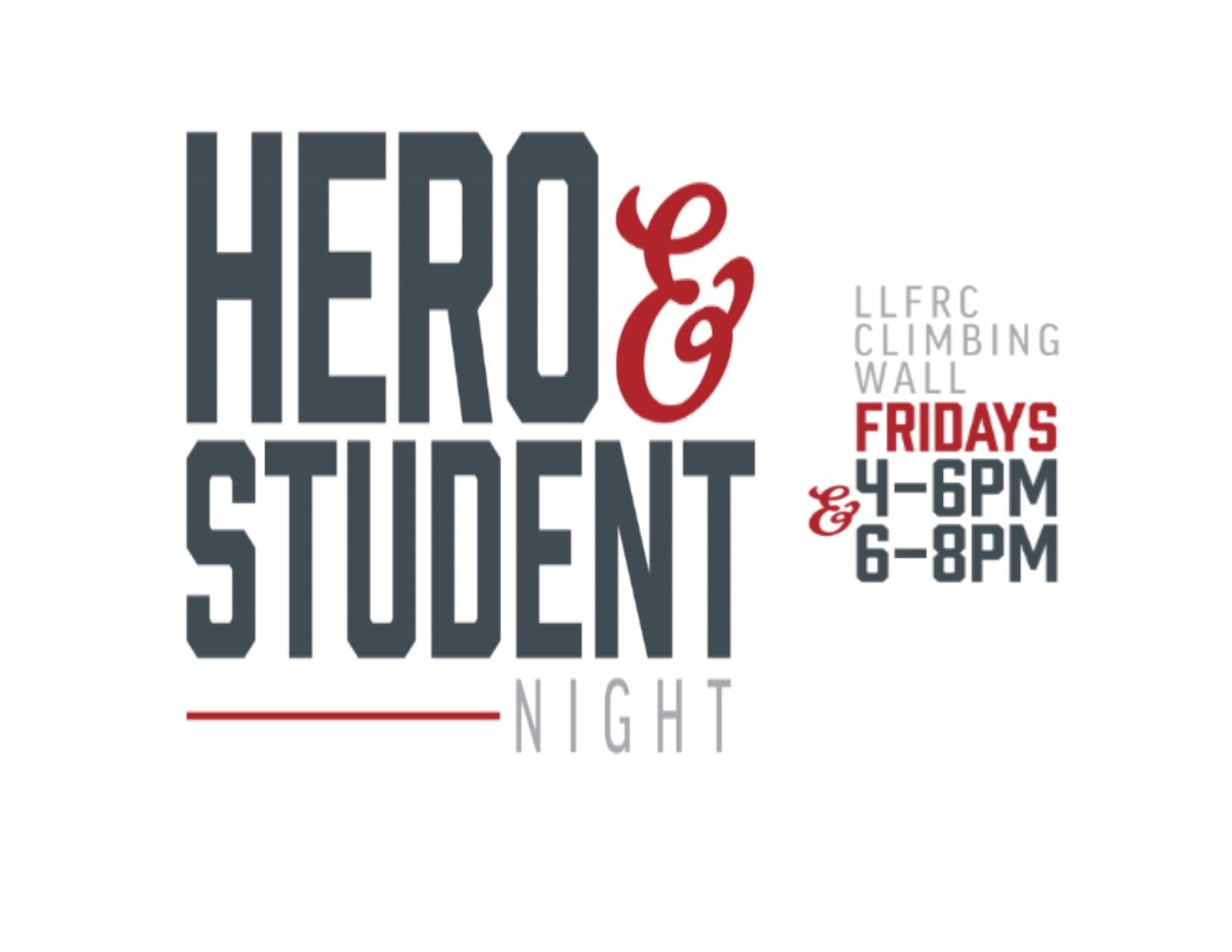 2018 Hero-Student Night