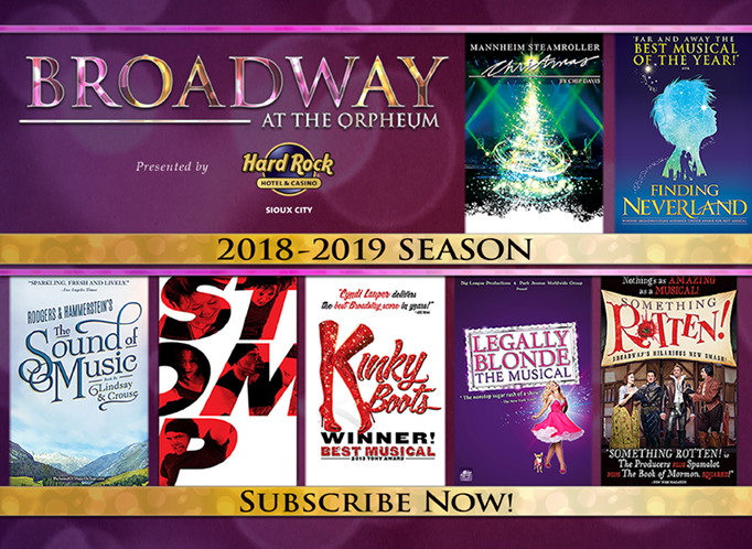 2018-19 Broadway Series Sioux City