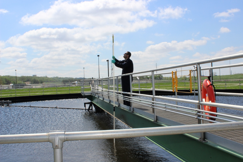 Sioux City Waste Water Plant Testing