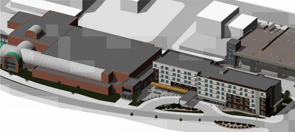 Courtyard by Marriott Sioux City Rendering