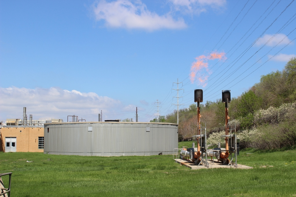 Sioux City Wastewater Treatment Plant Methane Gas