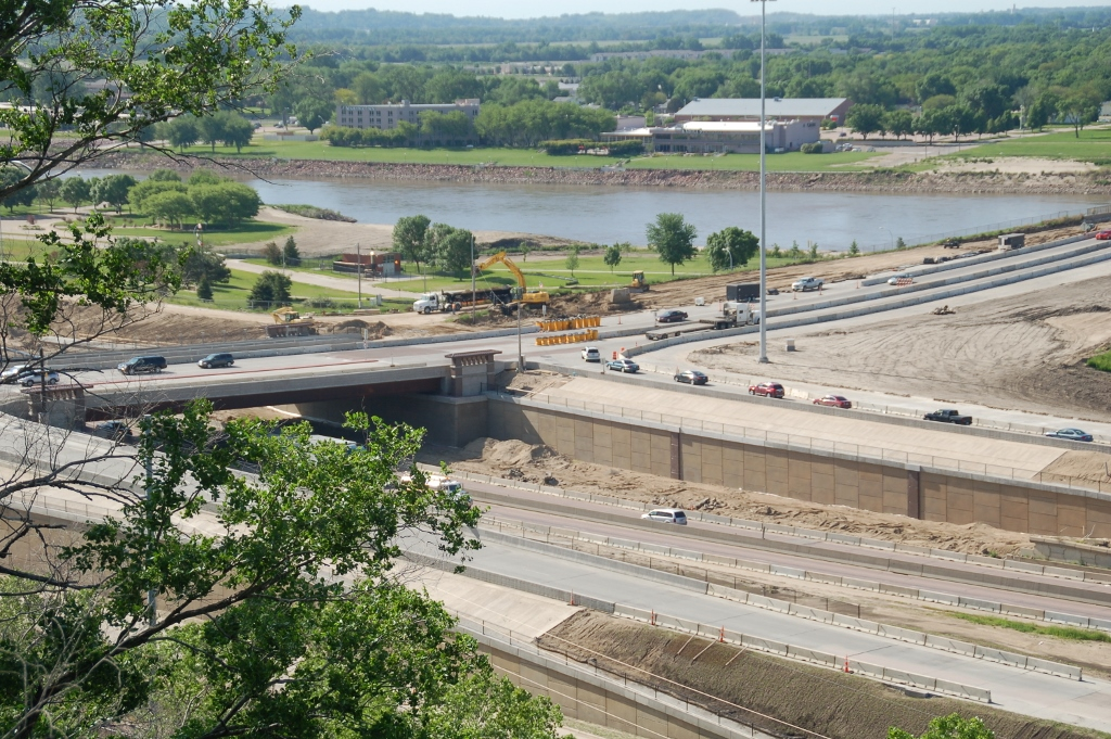 Interstate 29 Construction Sioux City