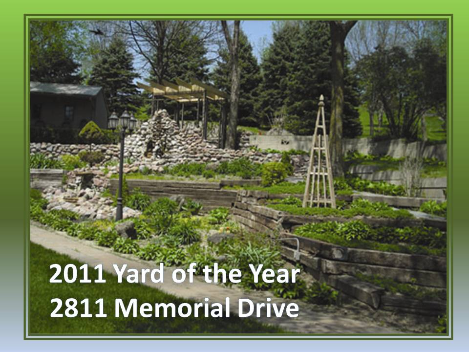 2011 Yard of the Year - Erickson