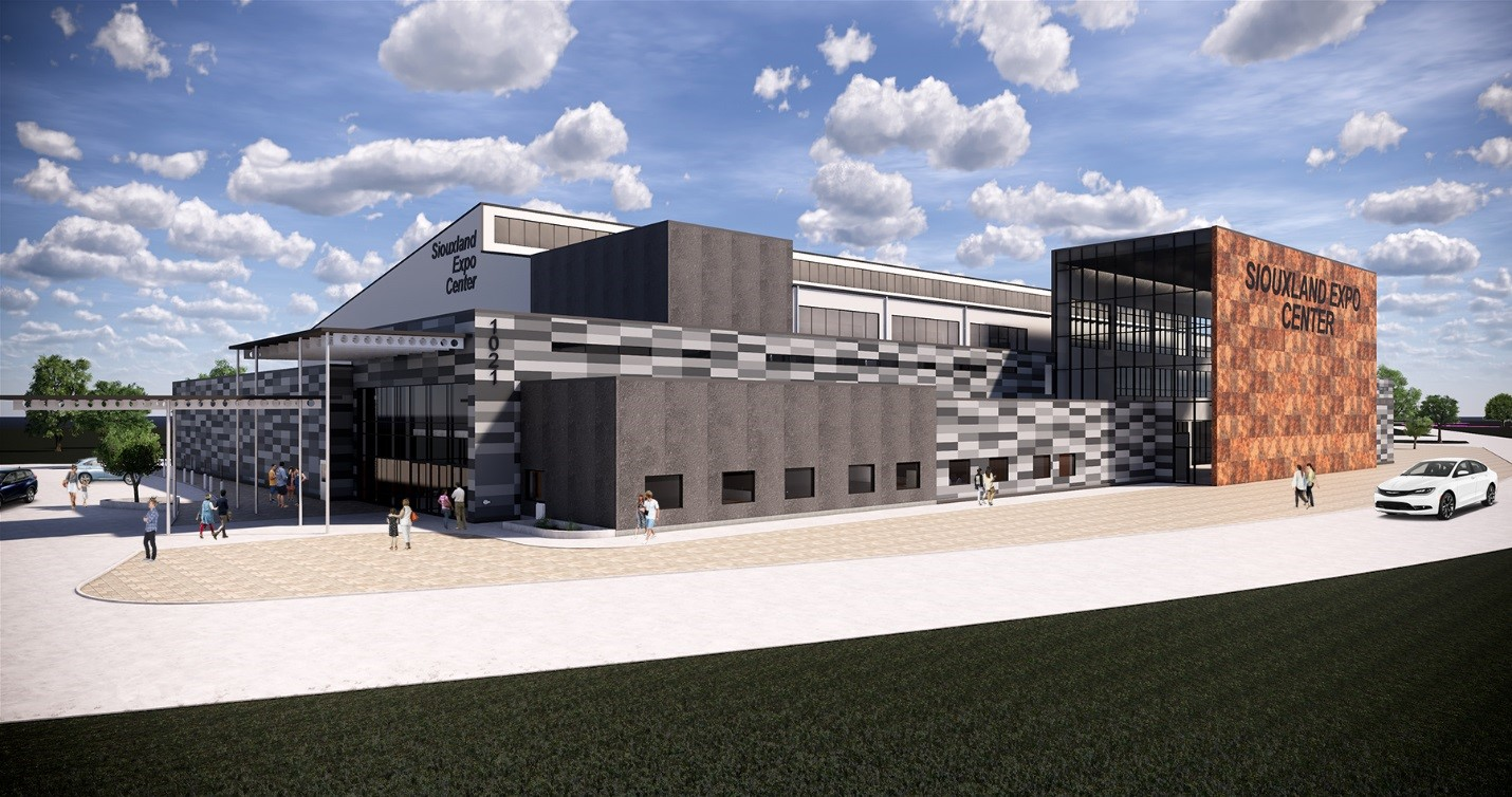 Siouxland Expo Center Rendering