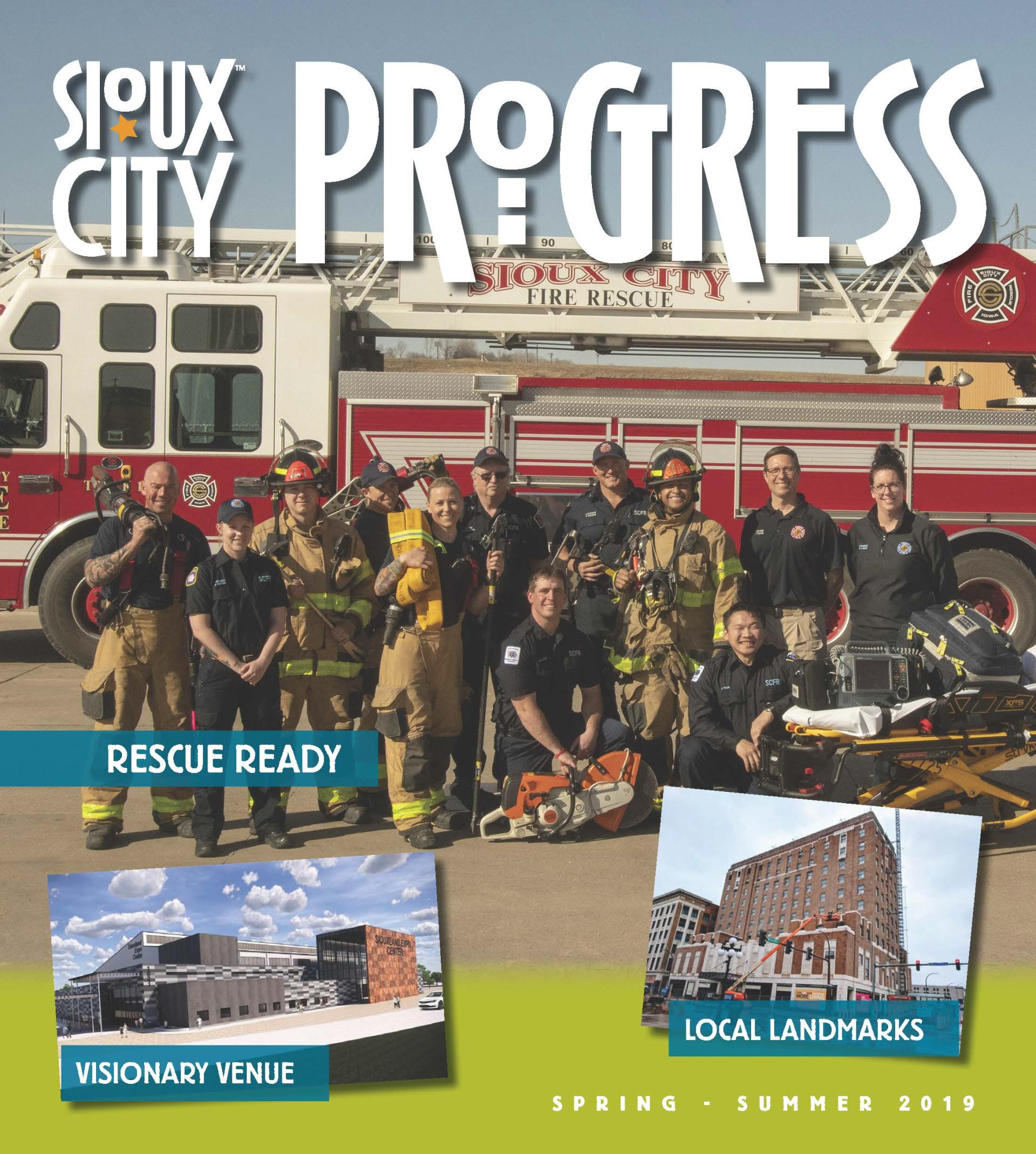 2019 Spring Summer City Progress Newsletter