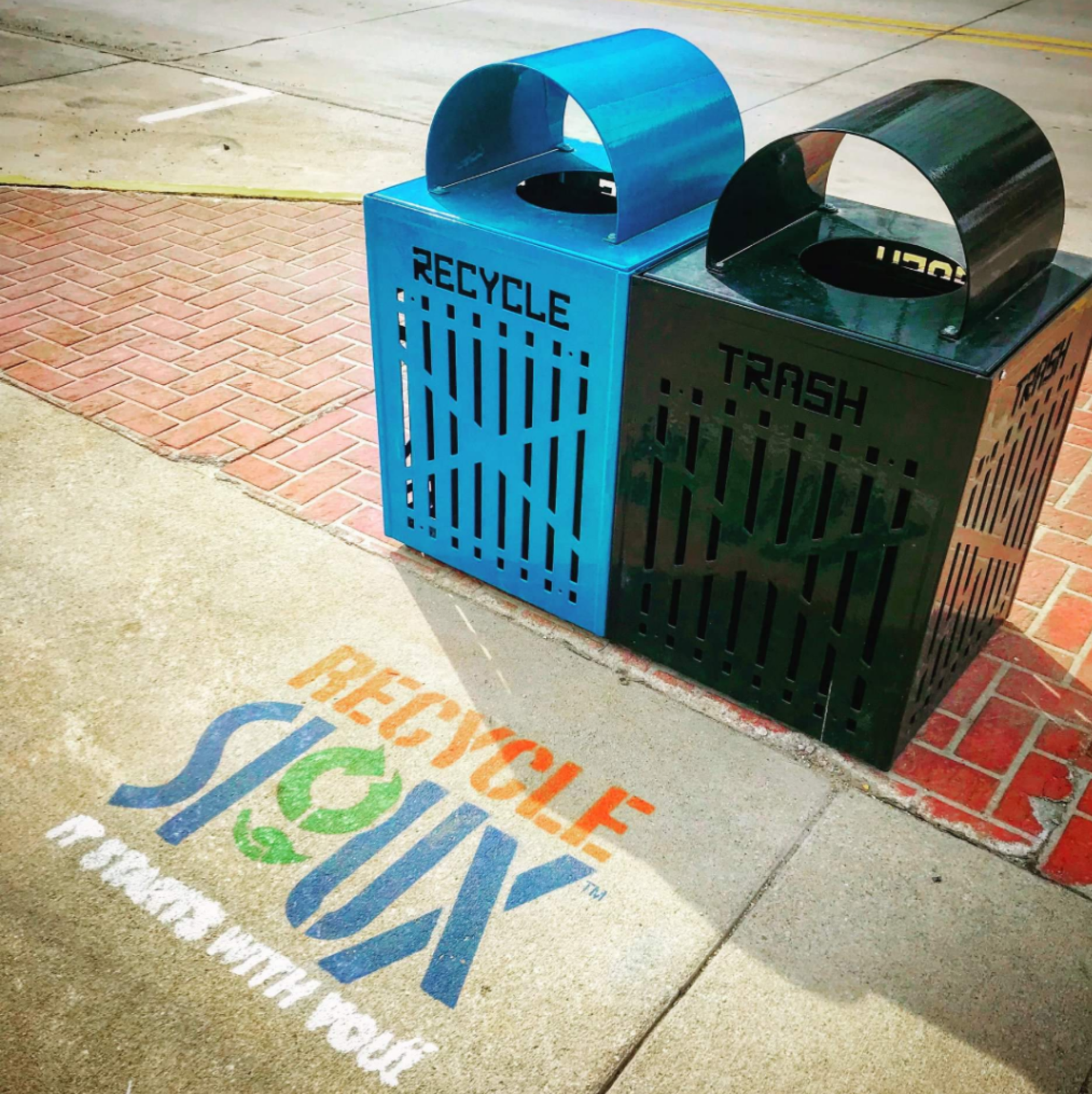 Recycle Containers in Sioux City