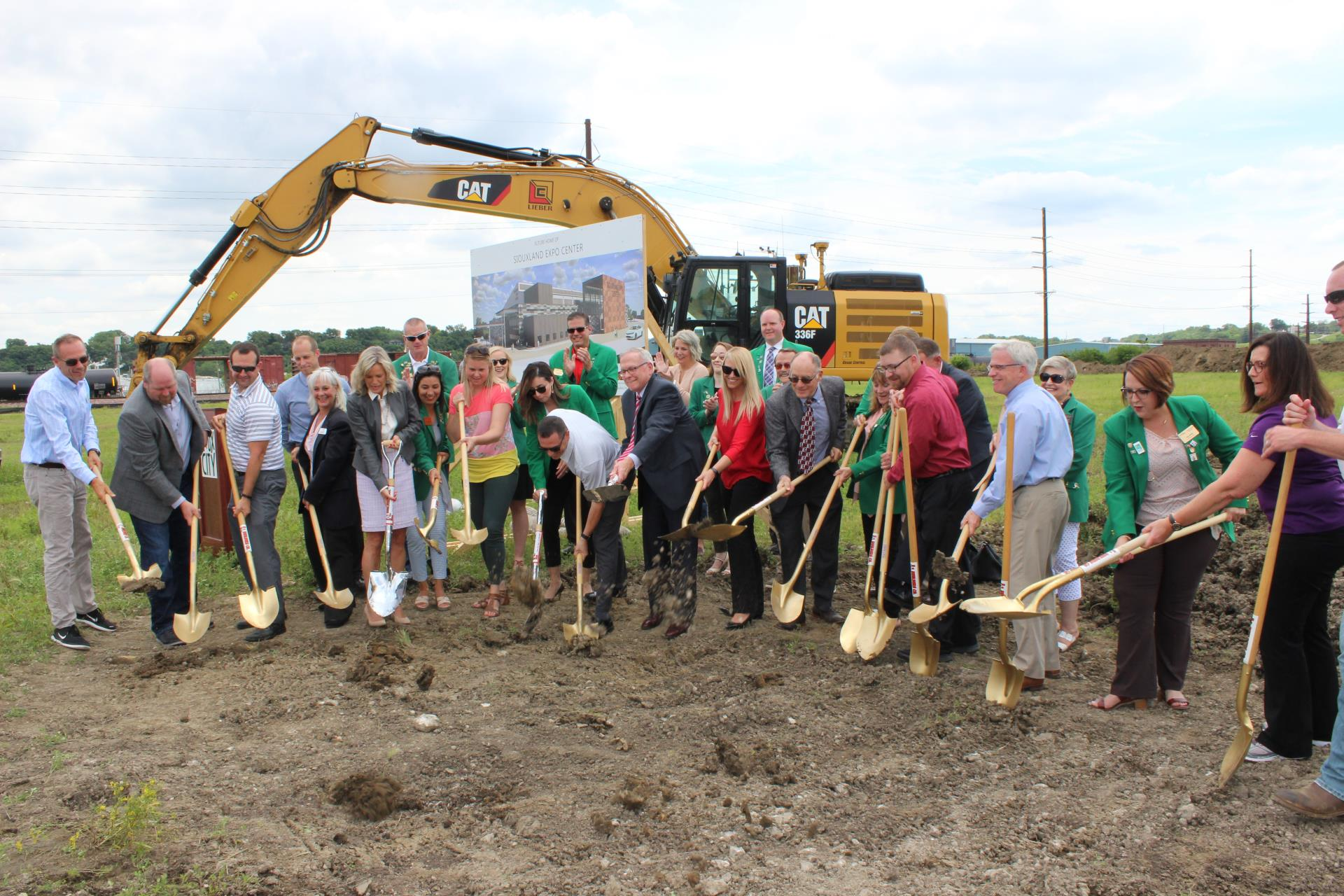 Siouxland Expo Center Groundbreaking