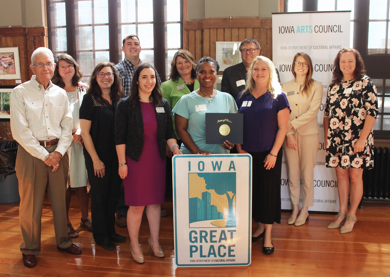 Iowa Great Places 2019 Redesignation