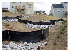Stormwater erosion control