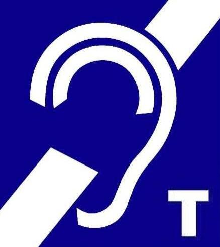 Hearing Impaired Loop Ear Symbol